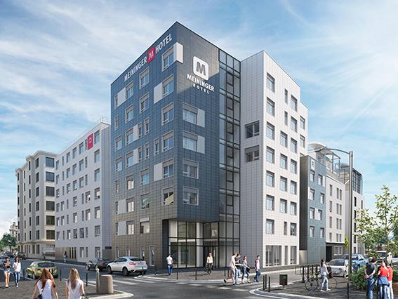 Hôtel Meininger / Novembre 2018