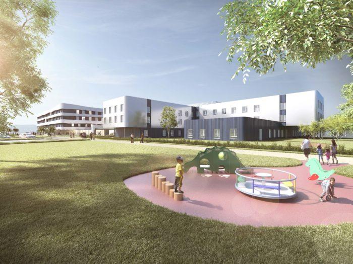 Nouvel Hôpital et EHPAD De Belley / Juillet 2019
