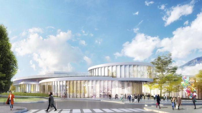 Centre commercial des Galeries Lafayette Annecy (74)  Octobre 2020