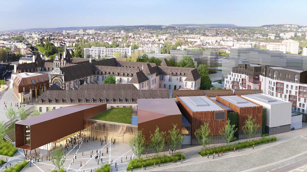 CITE INTERNATIONAL DE LA GASTRONOMIE ET DU VIN  Dijon (21) Avril 2021